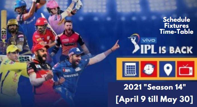 Vivo IPL 2021 Season 14