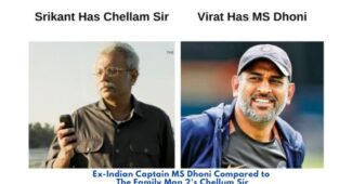 Ex Indian Captain MS Dhoni Compared to The Family Man 2's Chellum Sir