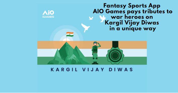AIO Games app pays tributes to war heroes on Kargil Vijay Diwas