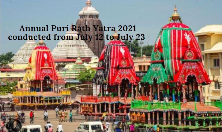 Puri Rath Yatra 2021